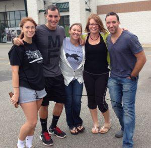 (from left) Kelsey, John, Jessica, Kim and BJ