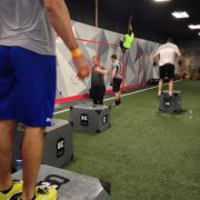Box Jumps at Muncie CrossFit
