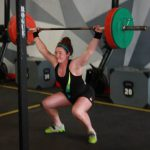 Erica Coulter Competing at the Downtown Throwdown Event Hosted by The Arsenal