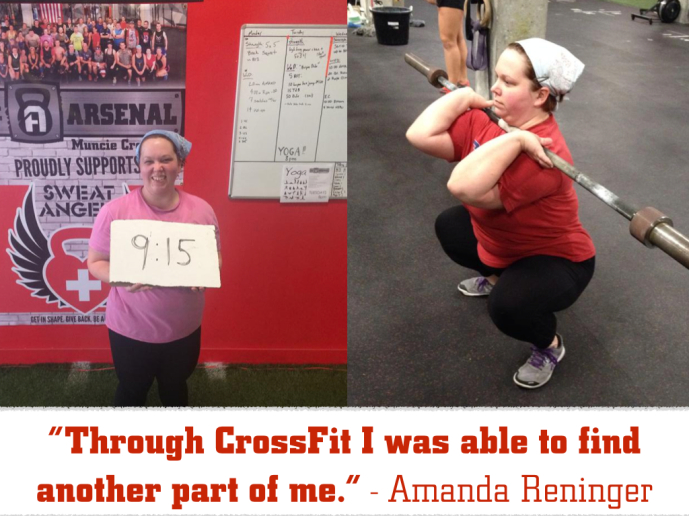 Amanda Reninger: Through CrossFit I was able to find another part of me.