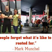 People forget what it's like to be rooted for - Mark Munchel