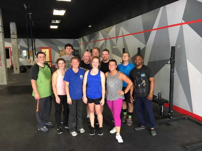 Ontario employees bond through burpees