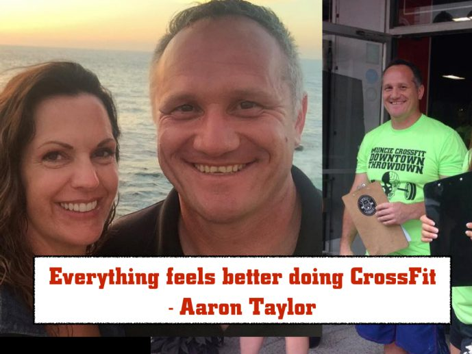 Everything feels better doing CrossFit - Aaron Taylor