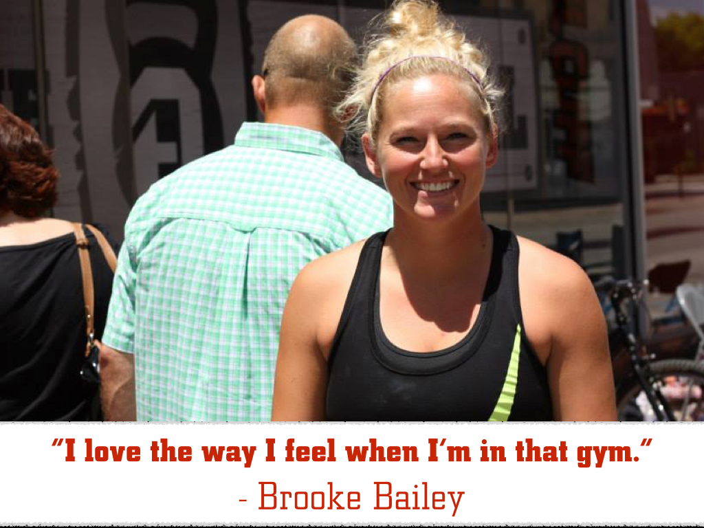 Bailey Brooke staff sergeant brooke bailey is as strong as she has to be